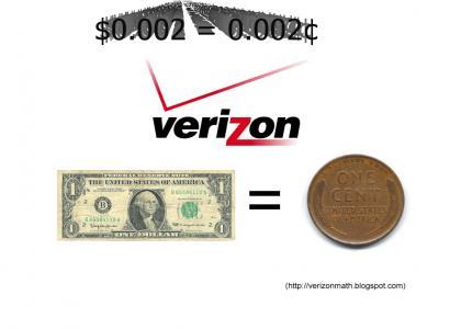 Verizon Fails at Math (long)