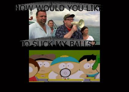 Eric Cartman and Michael Moore..the same people?