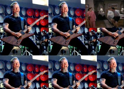 James Hetfield destroys your sister's favorite Justin Bieber song and MOSSHHEESS!