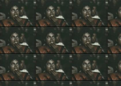 Michael Jackson love his popcorn