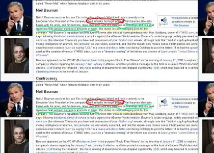 Neil J Bauman Forgot Poland+other wiki vandalism