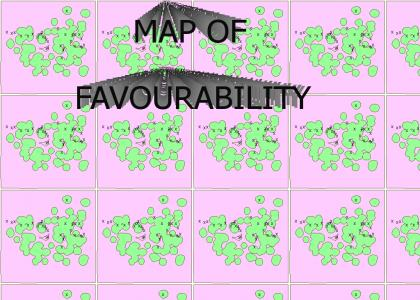 The Map Of Favourability
