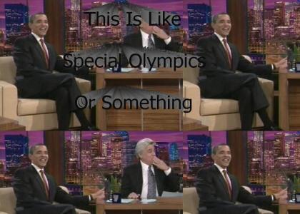 Obama Mocks Special Olympics