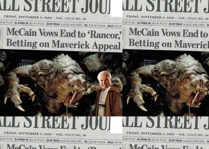 """McCain Ends 'Rancor"""""""