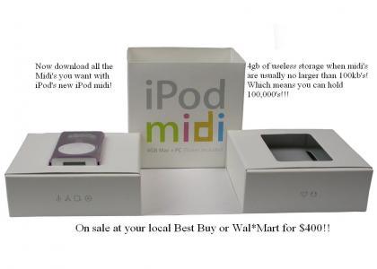 New iPod Midi !