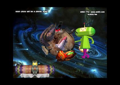 katamari prince makes pluto a planet again