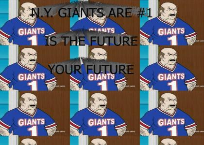 The NY Giants are #1 (Aqua Teen Hunger Force)