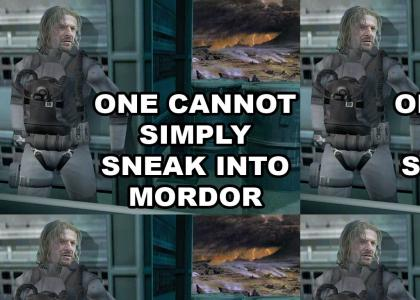 One Cannot Simply Sneak into Mordor