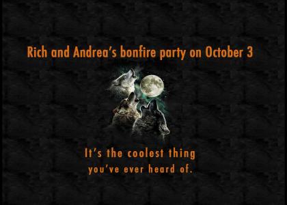 Rich and Andrea's Bonfire Party