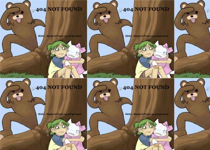 Pedo Bear Stalks His Prey