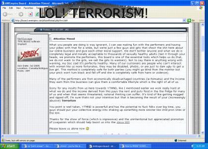 YTMND=Terrorism!!!!