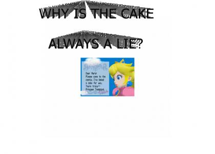 The cake is always a lie