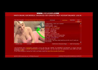 Pedobear Hits JasmineLive.com