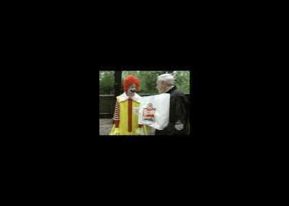 Ronald hates Wendy