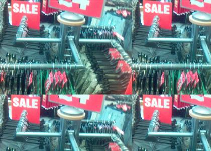 Secret Nazi clothes rack
