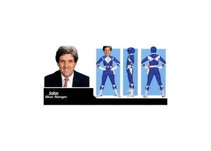 John Kerry is an Emo Ranger