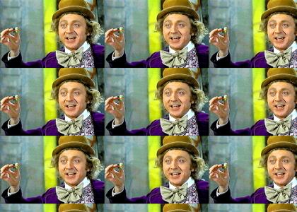 The Impersonator: Willy Wonka