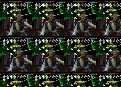 Jack Sparrow plays DDR