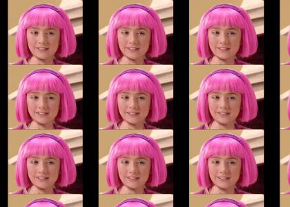 LazyTown Stephanie's Hair doesn't Change Expressions