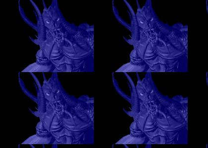 Diabo is blue