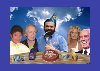 Happy Birthday, Billy Mays!! (July 20, 2009) *UPDATE*