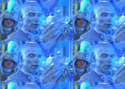 Mr. Freeze likes to say cold words!