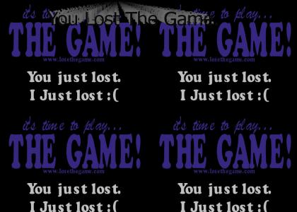 Lets play the game...