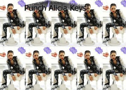 PTKFGS : Punch the Alicia Keys for God's sake