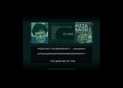 Metal Gear Pizza Bagels