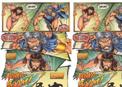 Jesus vs Zeus