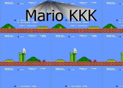 Super Mario Hates  N****rs