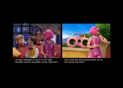 LazyTown: Back to Front?