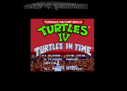 Don LaFontaine wants to play Turtles in Time