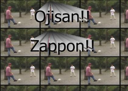 Epic Soccer Maneuver OJISAN!!!