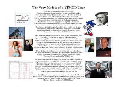 The Very Models of a YTMND User