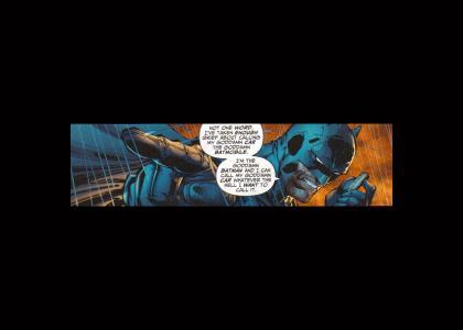 The Goddamn Batman Tells It Like It Is