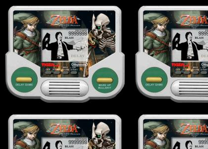 Zelda: Twilight Princess TIGER HANDHELD!