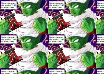 Piccolo discovers Unreal Tournament 3.