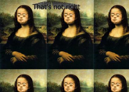 Brian Peppers is... Mona Lisa