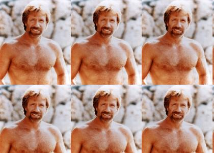 Hi, this is (animated) Chuck Norris...