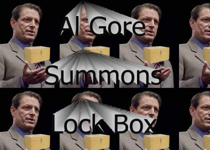 Al Gore Summons Lock Box
