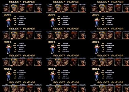 Streets Of Rage 2 Hidden Character...