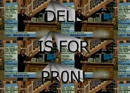 Dell is for pr0n!