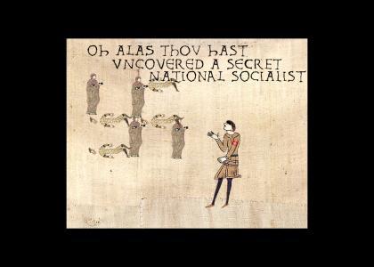 OMG Secret Medieval Nazi