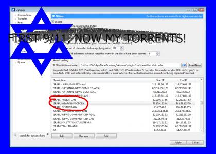 Secret Zionist Anti-Bit Torrent Plan