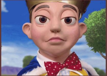 Lazytown: Stingy Cries