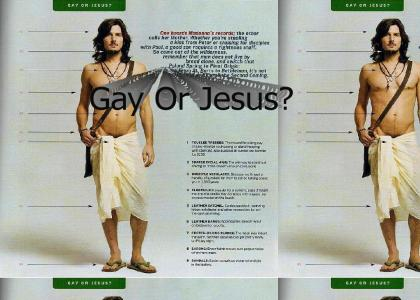 Gay Or Jesus?