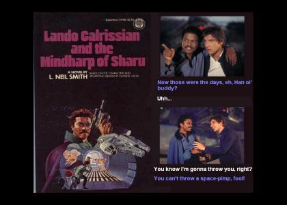 Lando Calrissian and Han Solo Reminisce