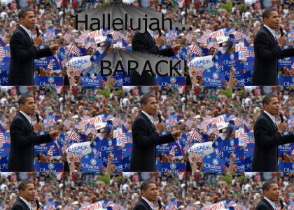 Hallelujah BARACK!