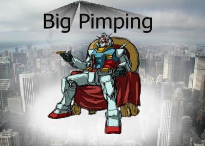 Gundam is a PIMP